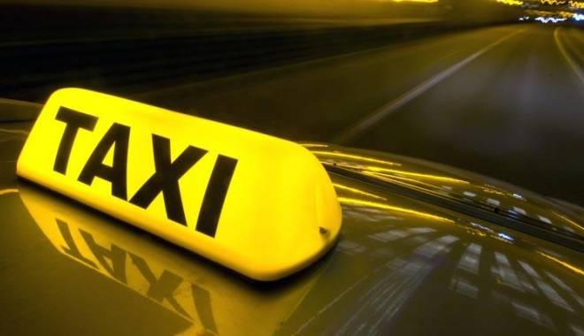 Foto: Tânăr reţinut după ce a jefuit mai mulţi taximetrişti