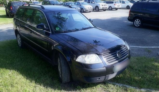 Foto: Ţeapă de 2.500 euro, după ce a cumpărat o maşină furată de la o rudă