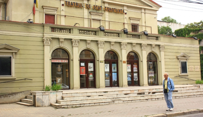 Premieră naţională pe scena Teatrului  de Stat, cu Dorel Vişan.