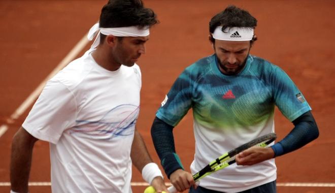 Foto: Tecău şi Mergea s-au oprit în semifinale la Washington