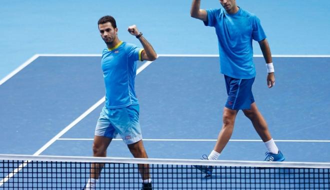 Foto: Tecău şi Rojer, sfert-finalişti ai turneului de la Paris