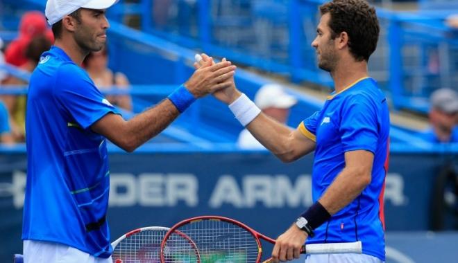 Foto: Tenis / Tecău și Rojer, a treia victorie în fața fraților Bryan, la Paris-Bercy