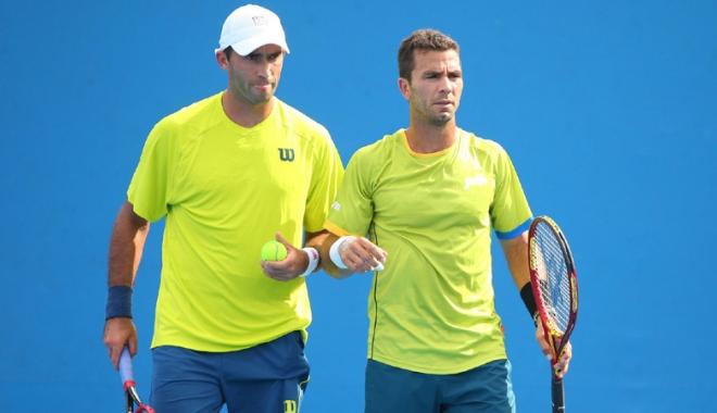 Foto: Tecău şi Rojer au ratat finala turneului de la Paris