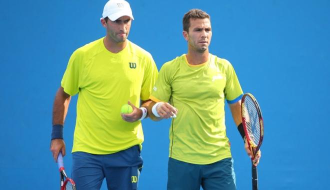 Foto: Tecău şi Rojer, desemnaţi capi de serie nr. 3 la Australian Open