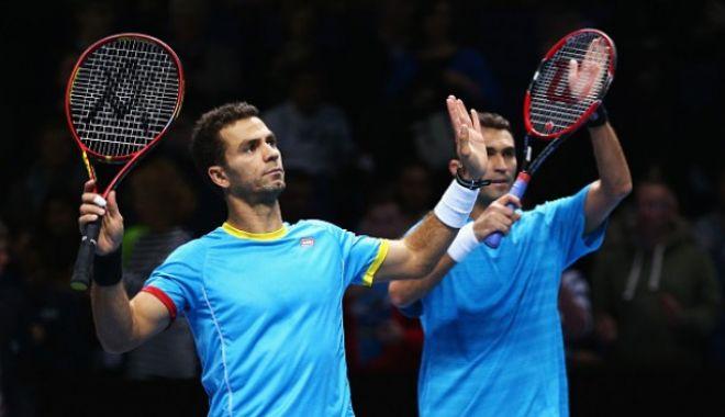 Foto: Tenis / Tecău şi Rojer vor juca finala de dublu a turneului de la Dubai