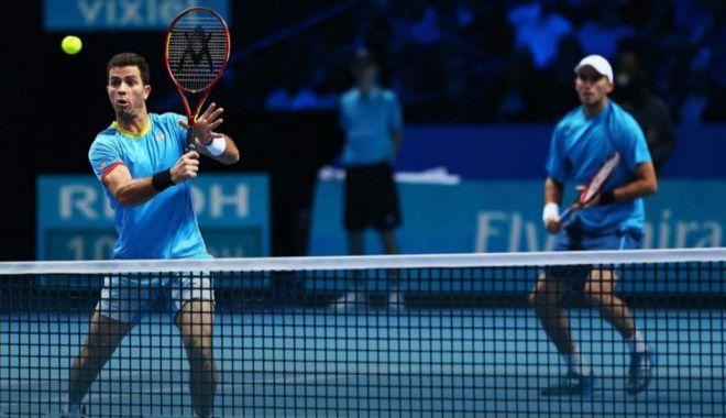 Foto: Tenis / Horia Tecău și Jean-Julien Rojer, eliminați în sferturi la Toronto Masters
