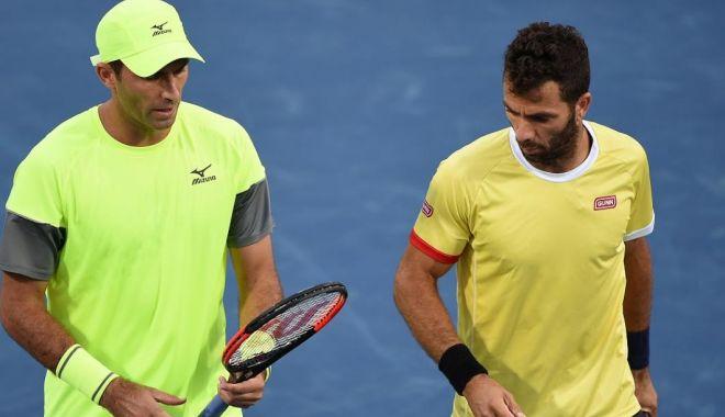 Foto: Tecău şi Rojer, eliminaţi din turneul de la Roma