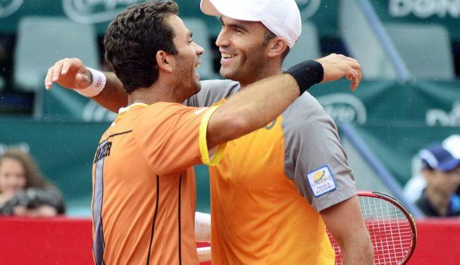Foto: Tecău şi Jean-Julien Rojer s-au calificat în optimile de finală ale probei de dublu la turneul de la Shanghai,