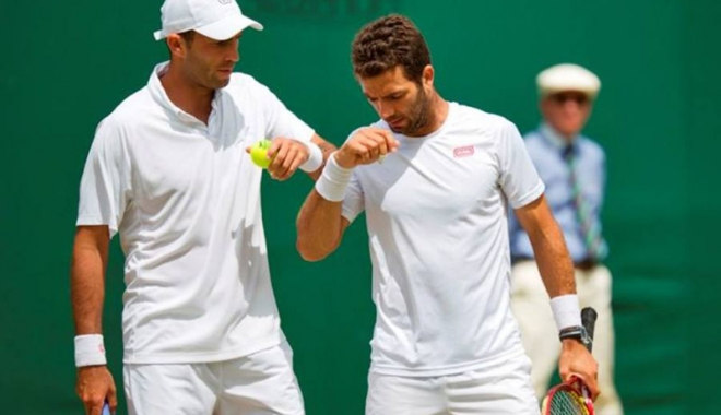 Foto: Tecău şi Rojer, eliminaţi din turneul de la Viena