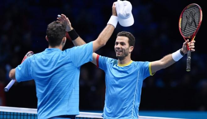 Foto: Tenis / Tecău și Rojer s-au calificat în sferturile probei de dublu la Paris-Bercy