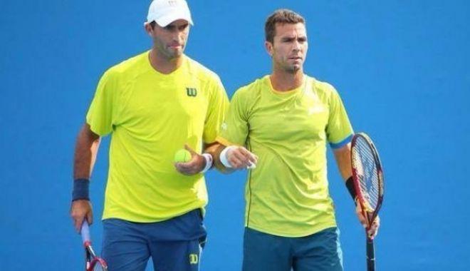 Foto: Tecău şi Rojer, calificaţi în sferturile probei de dublu la Dubai (ATP)
