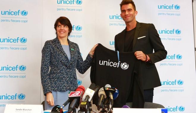 Foto: Constănţeanul Horia Tecău, noul ambasador UNICEF România