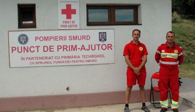 Foto: Primăria Techirghiol, pregătită să acorde primul-ajutor turiştilor