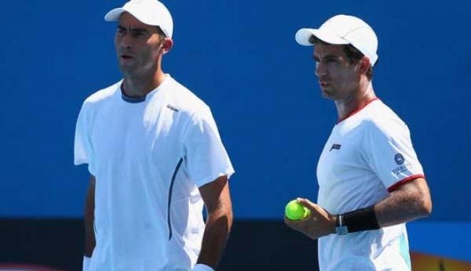 Foto: Tenis / Tecău și Rojer, eliminați în semifinale la turneul de la Rotterdam