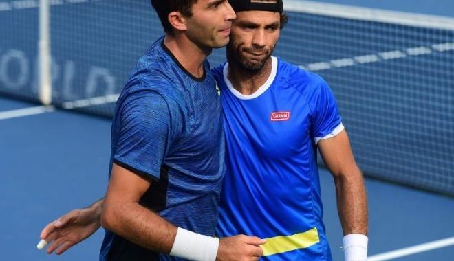 Foto: Tenis / Tecău și Rojer au ratat calificarea în finala probei de dublu la Paris-Bercy