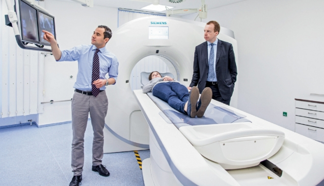 Foto: Reţeaua de sănătate Regina Maria, investiţii în tehnologie de ultimă generaţie