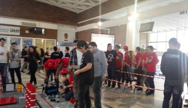 Elevii Liceului  de Telecomunicaţii Constanţa, în cursă  la Campionatul  Naţional de Robotică - telecomunicatiirobotica2-1520872418.jpg