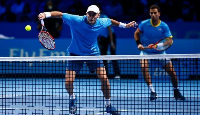 Foto: Tenis, ATP Rotterdam / Horia Tecău și Jean-Julien Rojer, învinși în finala probei de dublu