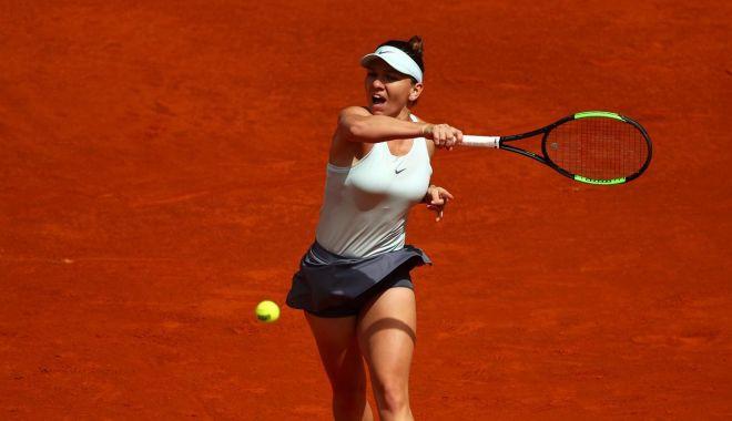 Foto: Ce adversară va avea Simona Halep în sferturile turneului de la Madrid