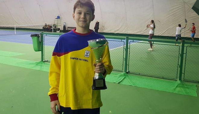 Foto: Naţionalele de vară U14, la Tenis Club Bright Constanţa