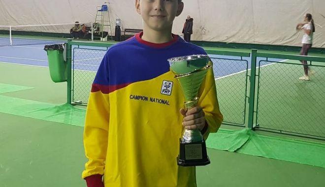 Foto: Naţionalele de vară U14, organizate de Tenis Club Bright Constanţa