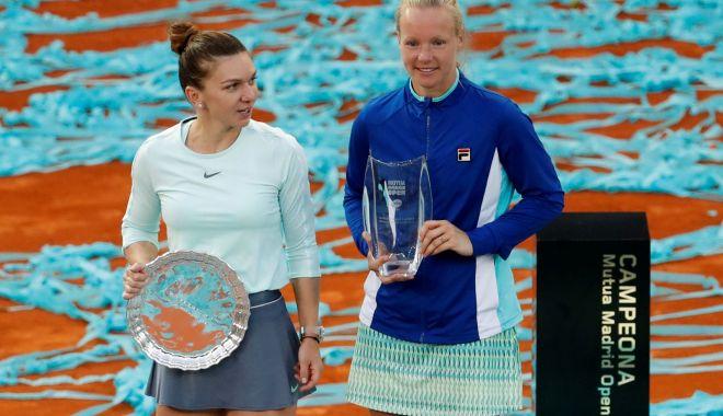 Foto: Cât ghinion! Simona Halep, învinsă în finala turneului de la Madrid