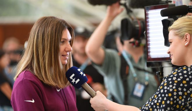 """Foto: Simona Halep: """"Roland Garros-ul e special, are dimensiune umană"""""""