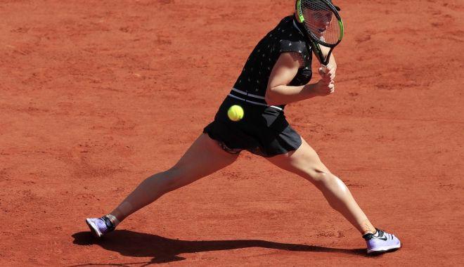 """Foto: Simona Halep, eliminată de la Roland Garros. """"Sunt tristă!"""""""