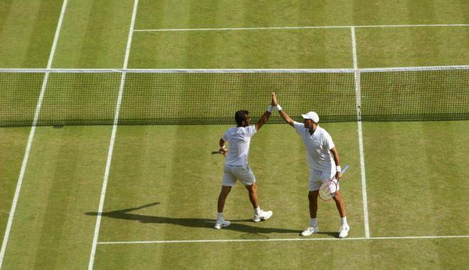 Foto: Horia Tecău, calificat în şaisprezecimi, la Wimbledon