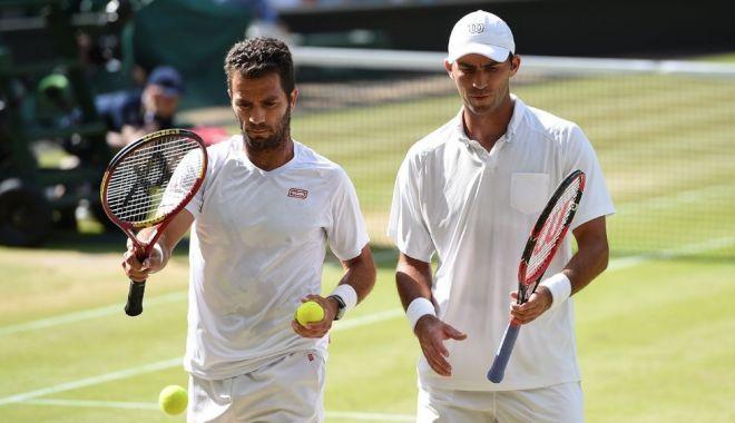 Foto: Horia Tecău, calificat în optimi, la Wimbledon