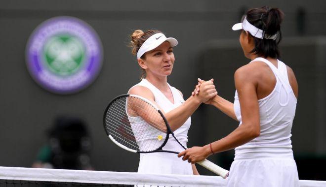 Foto: Simona Halep, calificată în semifinalele turneului de la Wimbledon