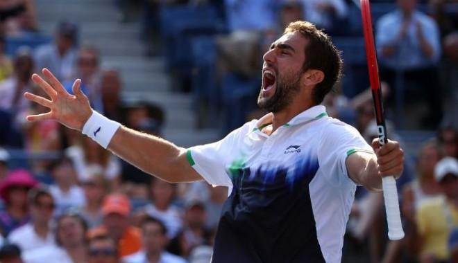 Foto: Tenis: Croatul Marin Cilic, câştigătorul turneului US Open