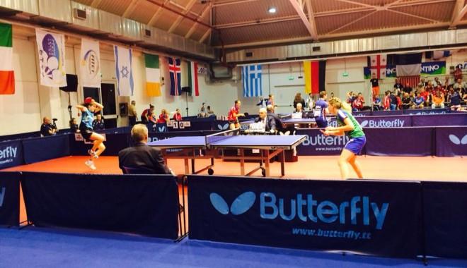 Foto: Tenis de masă: Bronz pentru România la Europene