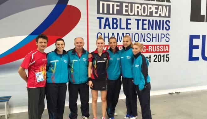Foto: Tenis de masă: Tricolorele, calificate în semifinalele Campionatului European