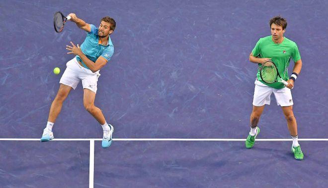 Foto: Nikola Mektic şi Horacio Zeballos, campioni în proba de dublu, la Indian Wells