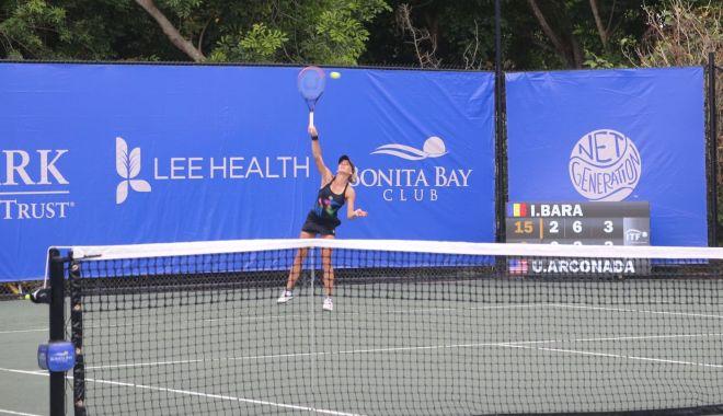 Tenis / Irina Bara vs. Katie Volynets, în finala turneului de la Bonita Springs - tenisirina-1621167224.jpg