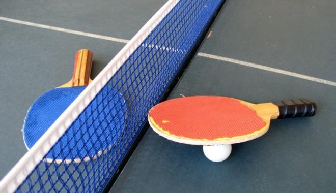 Foto: Tenis de masă / Românii au fost eliminaţi de la Mondiale