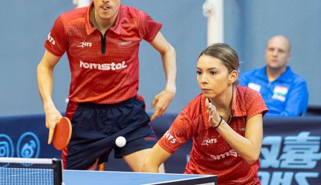 Tenis de masă / Bernadette Szocs și Ovidiu Ionescu, calificaţi la JO de la Tokyo, în proba de dublu mixt - tenismasa605-1620298636.jpg
