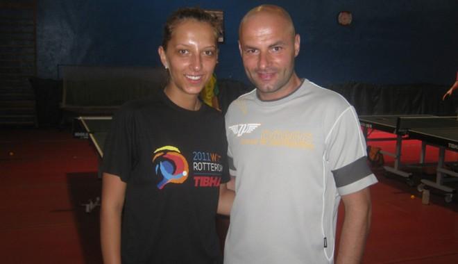Foto: Eliza Samara şi Andrei Filimon îşi apără titlul european la dublu mixt