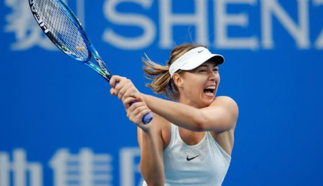 Foto: Maria Sharapova s-a operat la umărul drept