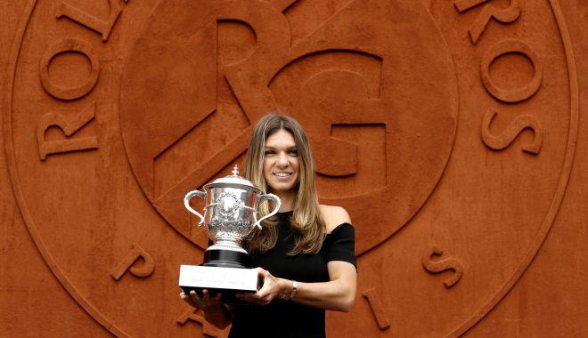 """Foto: """"Simona Halep porneşte cu prima şansă la Roland Garros"""""""