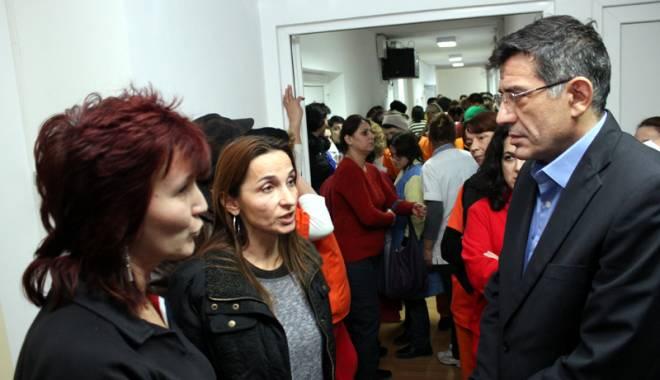 Foto: Angajaţii Sanatoriul Techirghiol cer sprijinul Ministerului Sănătăţii