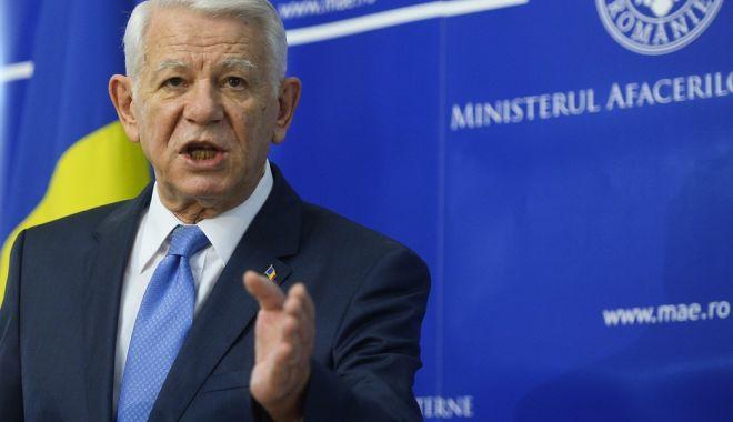 Foto: Teodor Meleșcanu: Ambasadorul american, rechemat în SUA