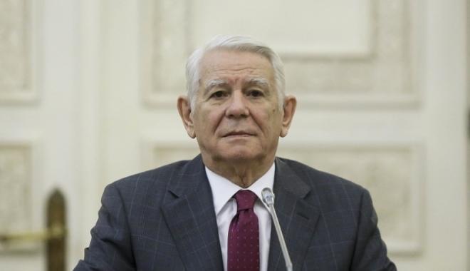 Foto: Teodor Meleșcanu, prezent la reuniunea CAE de la Bruxelles