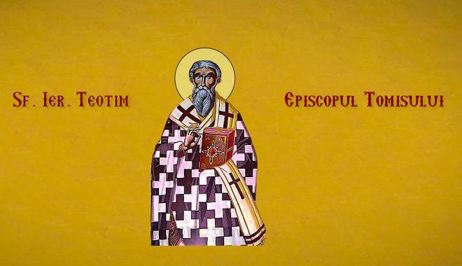 Biserica îl cinstește mâine pe sfântul Teotim, Episcopul Tomisului - teotim-1524144254.jpg