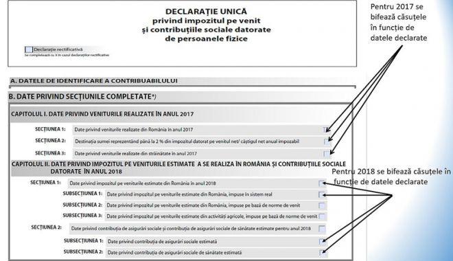 Foto: Se apropie termenul limită pentru depunerea declarației unice