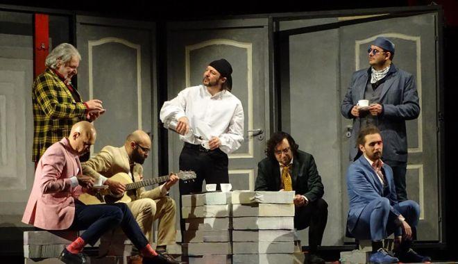 """Foto: Premieră la Teatrul de Stat: """"Testosteron"""""""