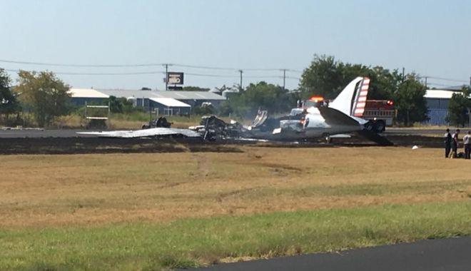 Tragedie aviatică! Niciun supraviețuitor, după ce un avion s-a prăbușit - texasplanecrash-1556051748.jpg