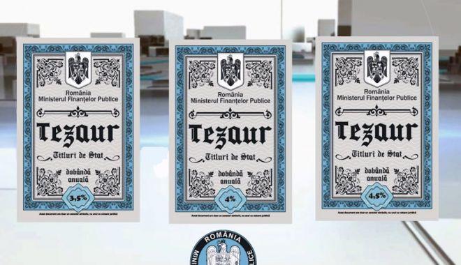 Titluri de stat Tezaur, pentru persoanele fizice, începând de miercuri, cu dobânzi de până la 4,75% - tezaur-1593516806.jpg