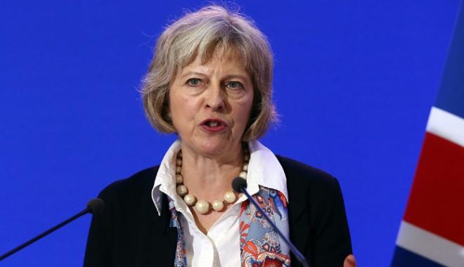 Foto: Theresa May, primul lider străin ce va fi primit la Casa Albă